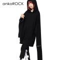 ankoROCKオープンジップハイパーロングスリーブパーカー -スーパービッグ-