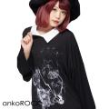ankoROCKディアスモーカーズシャツ襟カットソー -メガビッグ-