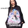 ankoROCK THE FUCKIN FUMIN CLUB フーミンちゃんプルオーバーパーカー -スーパービッグ-