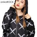 ankoROCKクロスエキスパンダーパーカー -スーパービッグ-