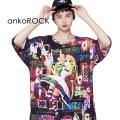 ankoROCKヒロインアリスTシャツ -メガビッグ-