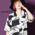 ankoROCK包帯開襟シャツ -スーパービッグ-