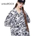 ankoROCK不思議の国のアリス開襟シャツ -スーパービッグ-