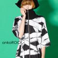 ankoROCK包帯半袖ボリュームネックジャージ -スーパービッグ-