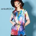 ankoROCK完全体ゾンビTシャツ -ちょっぴりルーズ-