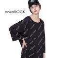 ankoROCKロゴロゴロゴTシャツ -メガビッグ-