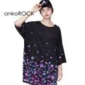 ankoROCKバラバラ金魚Tシャツ -メガビッグ-