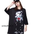 ankoROCK退廃サイコロTシャツ -メガビッグ-