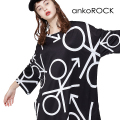 ankoROCK♂♀Tシャツ -メガビッグ-