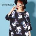 ankoROCKダーティーパンダズTシャツ -メガビッグ-