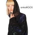 ankoROCKメッシュプルオーバーパーカー -スーパービッグ-