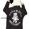 ankoROCK「ankoROCK RECORDS」アイロンDJベアシャツ -スーパービッグ-