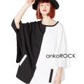 ankoROCK PANDAキモノアームTシャツ -メガビッグ-