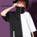 ankoROCK PANDA半袖ボリュームネックジャージ -スーパービッグ-