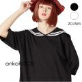 ankoROCKラインセーラーTシャツ -メガビッグ-