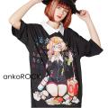 ankoROCK7つの大罪『暴食』シャツ襟Tシャツ -メガビッグ-