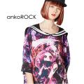 ankoROCKハデスラインセーラーTシャツ -メガビッグ-