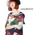 ankoROCKギャラクシーラインセーラーTシャツ -メガビッグ- SALE
