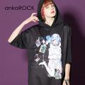 ankoROCK7つの大罪『嫉妬』半袖プルオーバーパーカー -スーパービッグ-