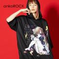 ankoROCK7つの大罪『怠惰』半袖プルオーバーパーカー -スーパービッグ-