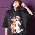 ankoROCK7つの大罪『憤怒』半袖プルオーバーパーカー -スーパービッグ-