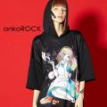 ankoROCK7つの大罪『暴食』半袖プルオーバーパーカー -スーパービッグ-