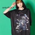 ankoROCK7つの大罪『傲慢』半袖プルオーバーパーカー -スーパービッグ- SALE