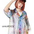 ankoROCK完全体ゾンビチュール開襟シャツ  -スーパービッグ-