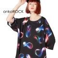 ankoROCKメビウスの輪Tシャツ -メガビッグ-