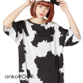 ankoROCKホルスタインTシャツ -メガビッグ-