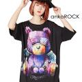 ankoROCK中二テディベアTシャツ -メガビッグ-