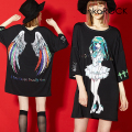 ankoROCK七つの大罪『怠惰担当 眠鶸(ねむ ひわ)』Tシャツ -メガビッグ-