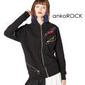 ankoROCKスパンキーリングジップパーカー -タイト-