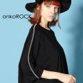 ankoROCKジップラインTシャツ -メガビッグ-