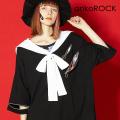 ankoROCKスパンキーリングジップセーラーTシャツ -メガビッグ- SALE