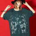 ankoROCK黒板アートTシャツ -メガビッグ-