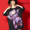 ankoROCKヘッドバンギングテディベアTシャツ -メガビッグ-