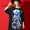 ankoROCK忠猿ピグ公Tシャツ -メガビッグ-