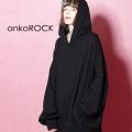 ankoROCKプルオーバーパーカー -オーバーサイズ-