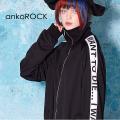 ankoROCKI WANT TO DIE...ホワイトラインボリュームネックジャージ -スーパービッグ-