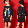 ankoROCK Re:ゾディアックガールズ『ふたご座ちゃん達』Tシャツ -メガビッグ-