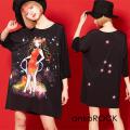 ankoROCK Re:ゾディアックガールズ『かに座ちゃん』Tシャツ -メガビッグ-