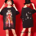 ankoROCK Re:ゾディアックガールズ『しし座ちゃん』Tシャツ -メガビッグ-