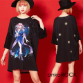 ankoROCK Re:ゾディアックガールズ『てんびん座ちゃん』Tシャツ -メガビッグ-