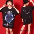 ankoROCK Re:ゾディアックガールズ『いて座ちゃん』Tシャツ -メガビッグ-