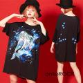 ankoROCK Re:ゾディアックガールズ『うお座ちゃん』Tシャツ -メガビッグ-