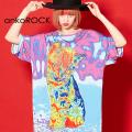 ankoROCKサーモグラフィーネコTシャツ -メガビッグ-