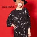 ankoROCKクロストゥーユーTシャツ -メガビッグ-