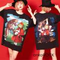 ankoROCK本当は怖い童話『赤ずきん』Tシャツ -メガビッグ-