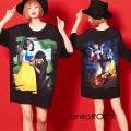 ankoROCK本当は怖い童話『白雪姫』Tシャツ -メガビッグ- SALE